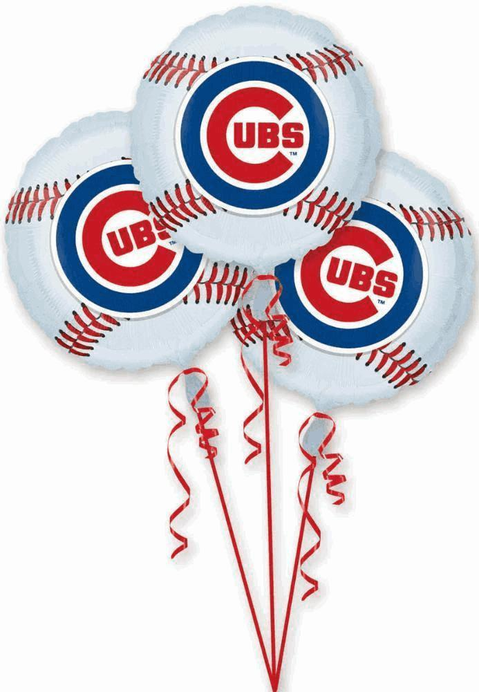 Balloon 3 Pack Chicago Cubs