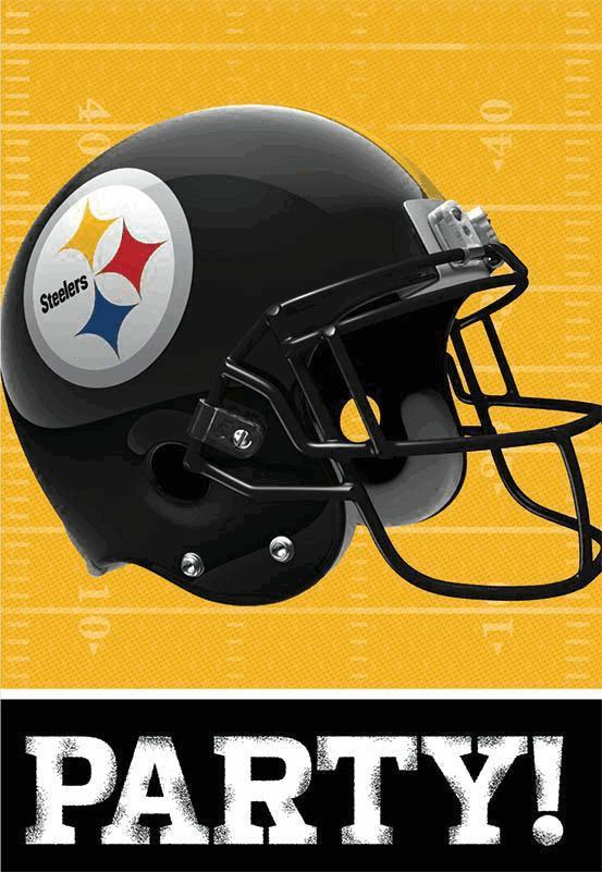 Nfl invitation and thank you card set pittsburgh steelers nfl invitation and thank you card set pittsburgh steelers webhats filmwisefo